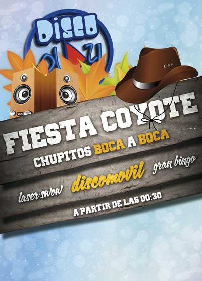 Fiesta Coyote de Discomovil Discoplay